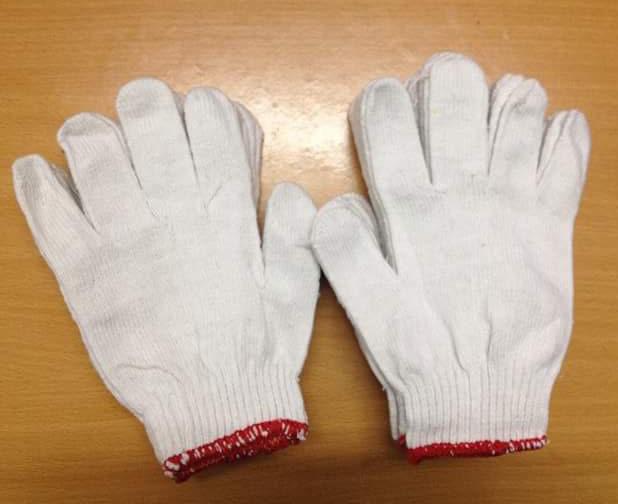 Găng tay màu kem kim 10 M40g, K40g